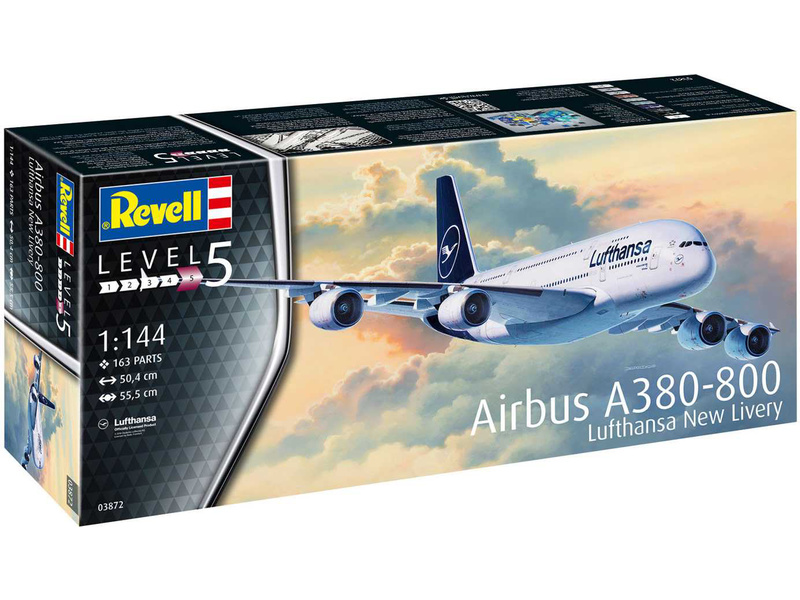 Revell Airbus A380-800 Lufthansa New Livery (1:144)