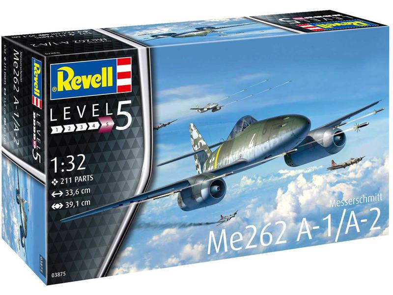 Revell Messerschmitt Me262 A-1 Jetfighter (1:32)
