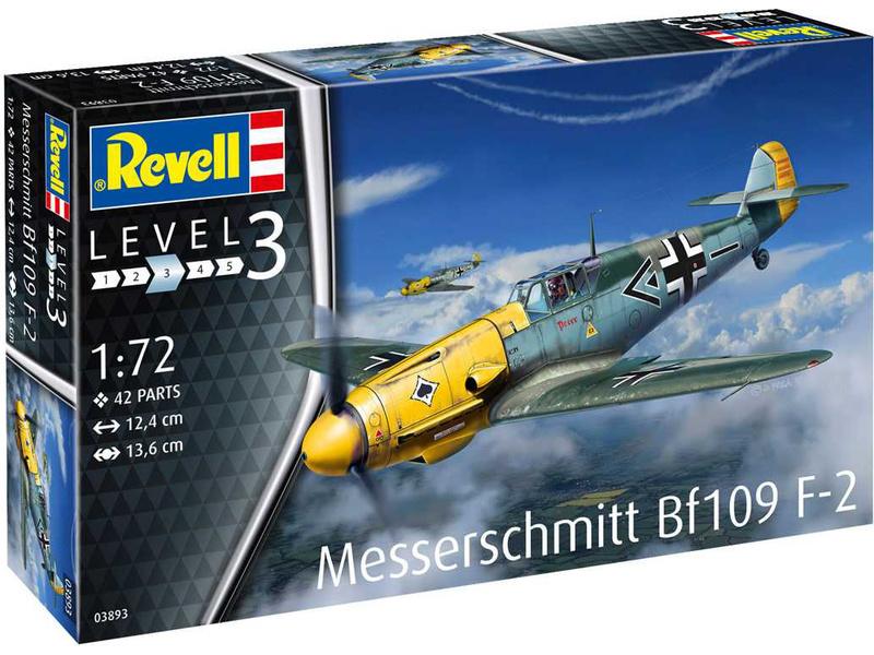 Revell Messerschmitt Bf109 F-2 (1:72)