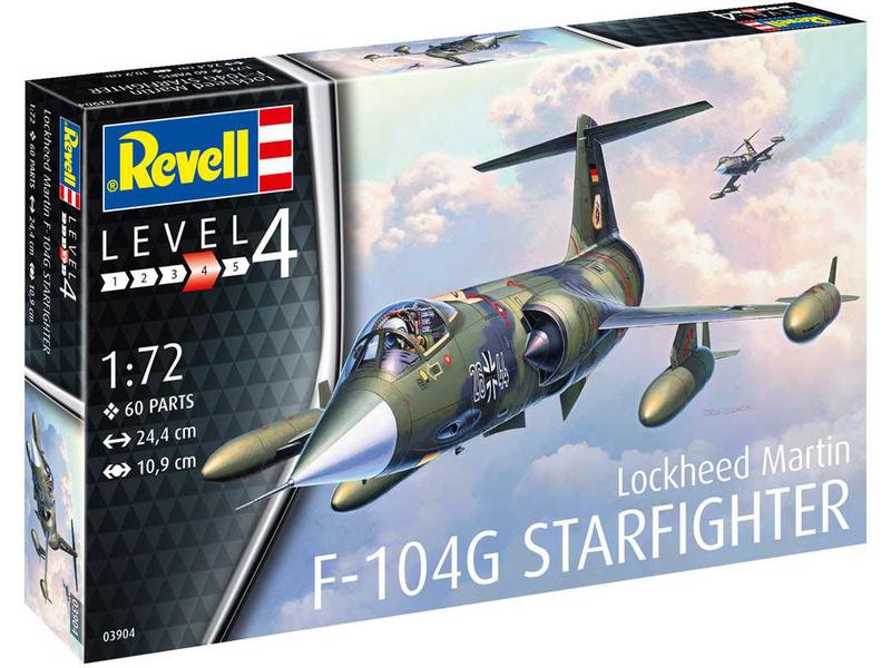 Revell Lockheed F-104G Starfighter (1:72)