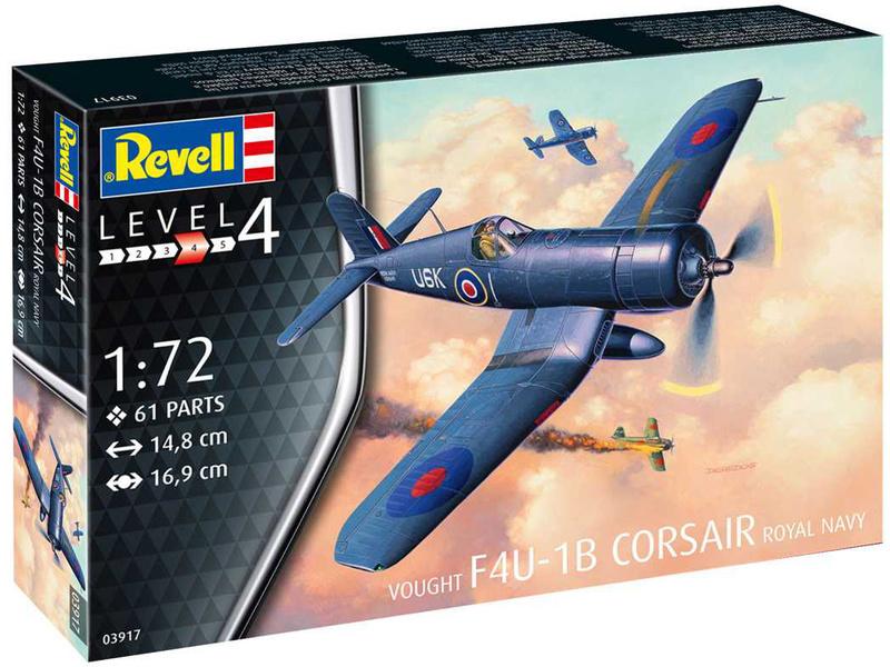 Revell F4U-1B Corsair Royal Navy (1:72)