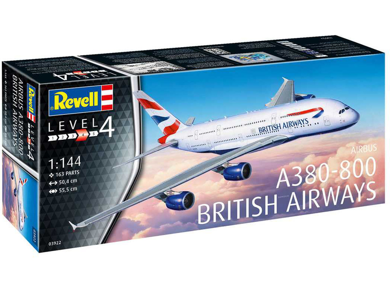 Revell Airbus A380-800 British Airways (1:144)