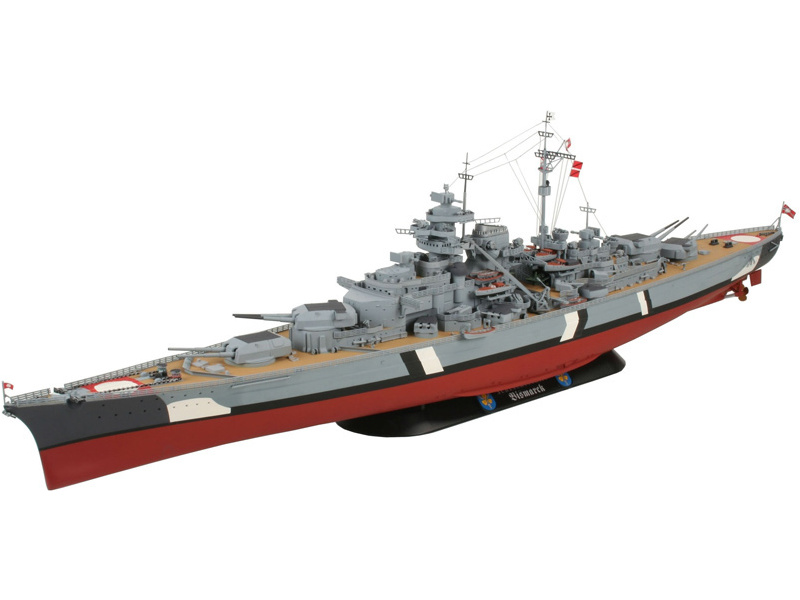Revell Battleship BISMARCK (1:350)