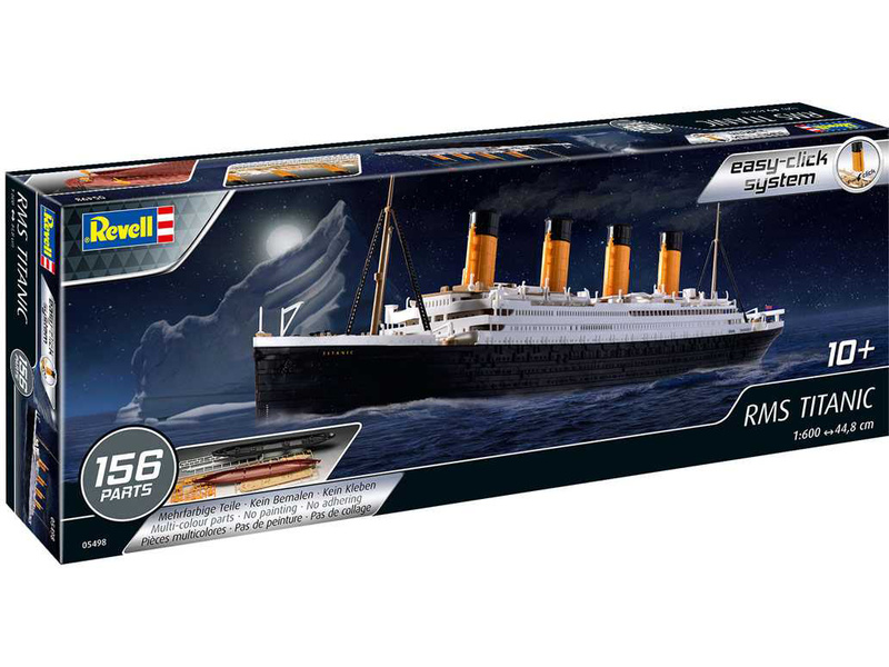 Revell EasyClick RMS Titanic (1:600)