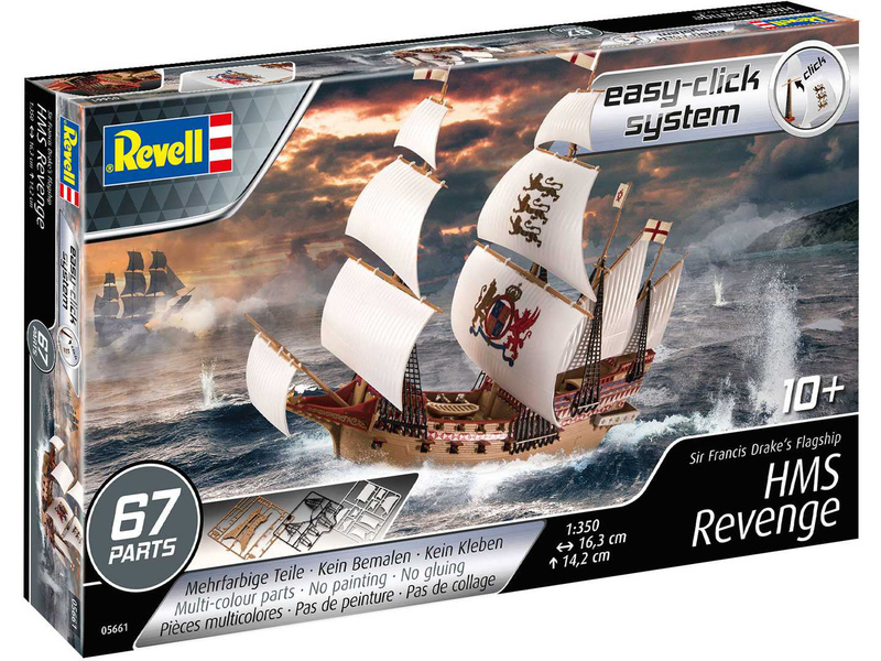 Revell HMS Revenge (1:350)