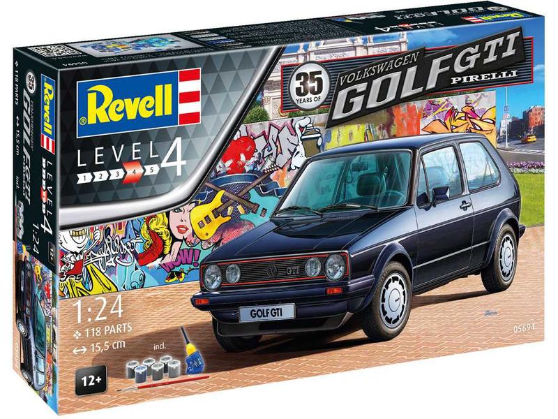 Revell Giftset VW Golf 1 GTi Pirelli (35. výročí) (1:24)