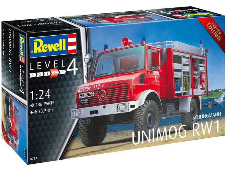 Revell Schlingmann Unimog RW1 (1:24)