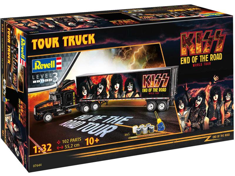 Revell Kiss Tour Truck (1:32) (Gift-Set)