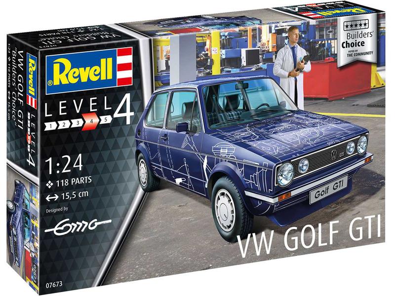 Revell Volkswagen Golf Gti Builders Choice (1:24)