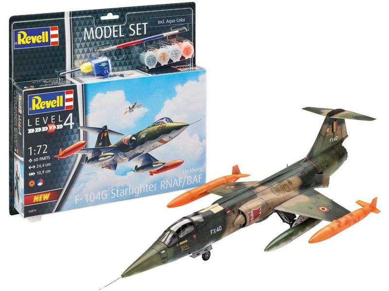 Revell Lockheed F-104 G Starfighter NL/B (1:72) (sada)