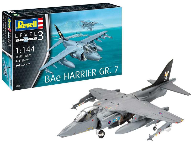 Revell BAe Harrier GR.7 (1:144) (sada)
