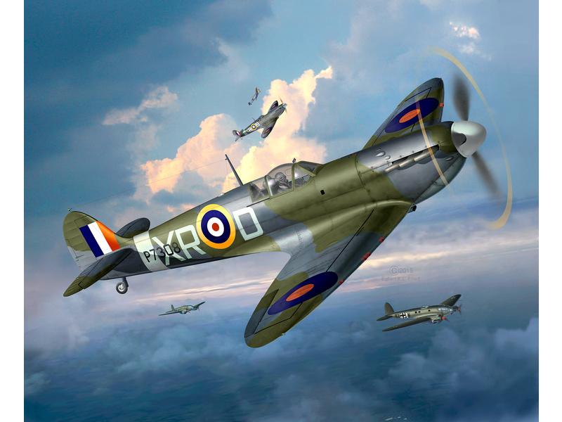 Revell Supermarine Spitfire Mk.II (1:48) sada