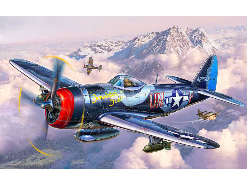 Revell P-47 M Thunderbolt (1:72) sada