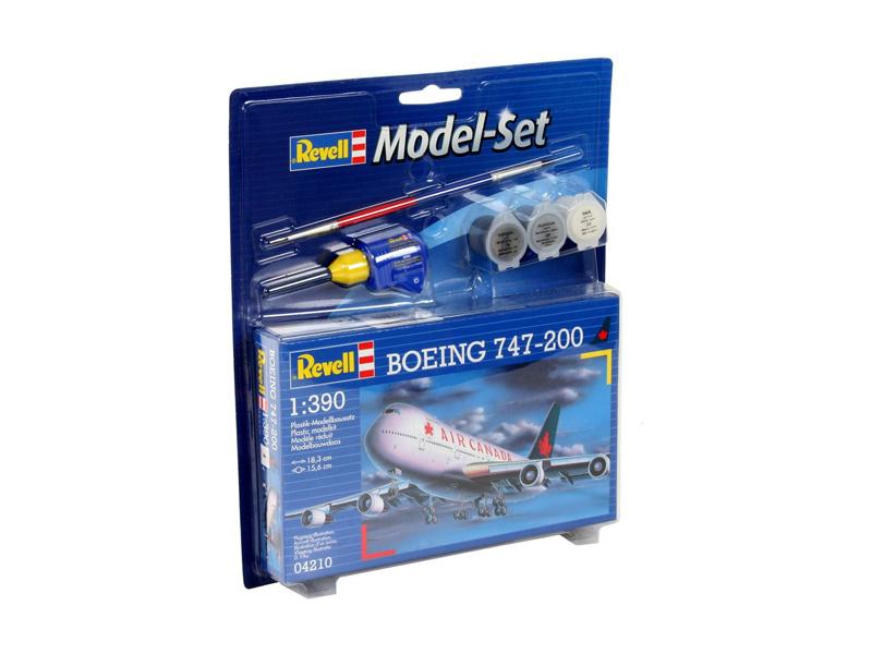 Revell Boeing 747-200 (1:390) sada