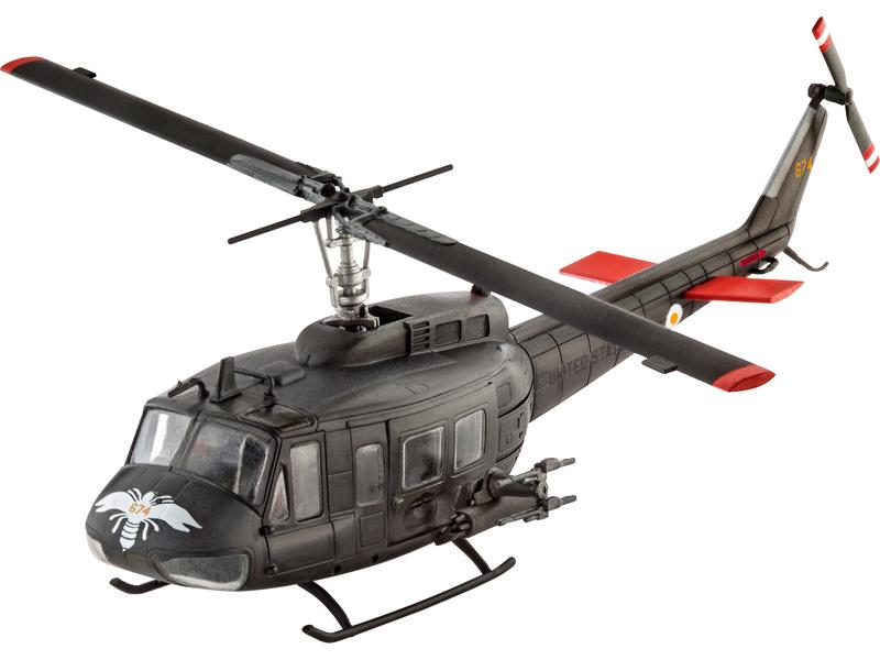 Revell Bell UH-1H Gunship (1:100) sada