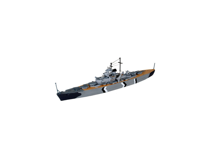 Revell Bismarck (1:1200) sada
