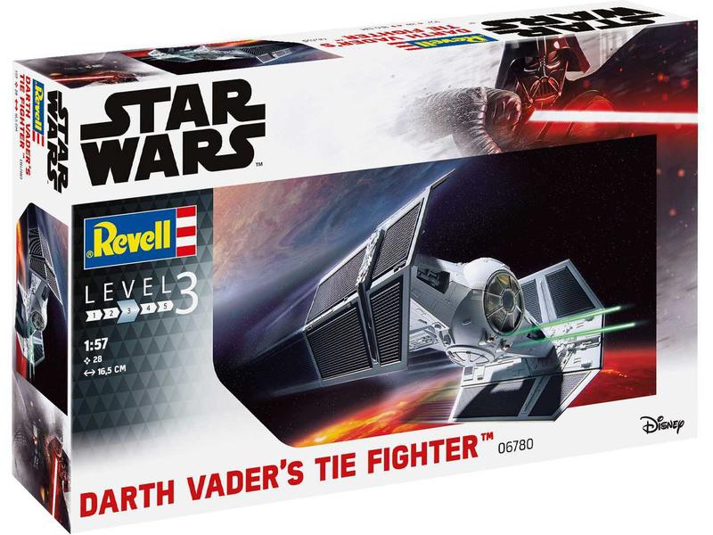 Revell SW Darth Vader's TIE Fighter (1:57) (sada)
