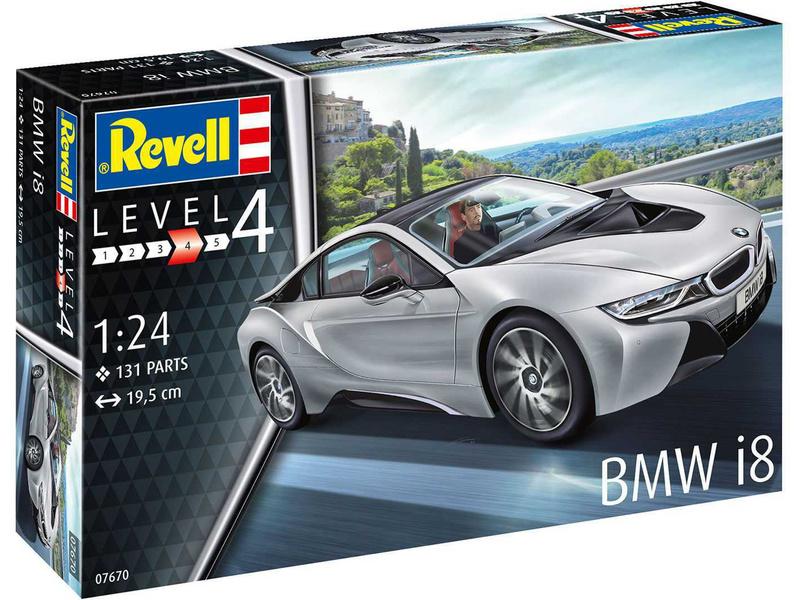 Revell BMW i8 (1:24) (sada)