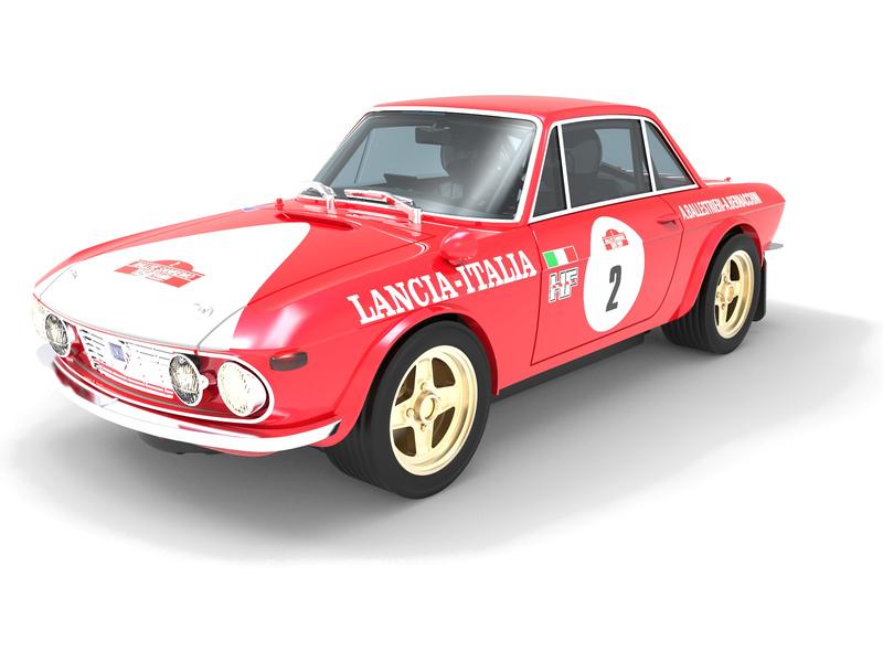 SCX Advance Lancia Fulvia 1.6 HF San Remo 72