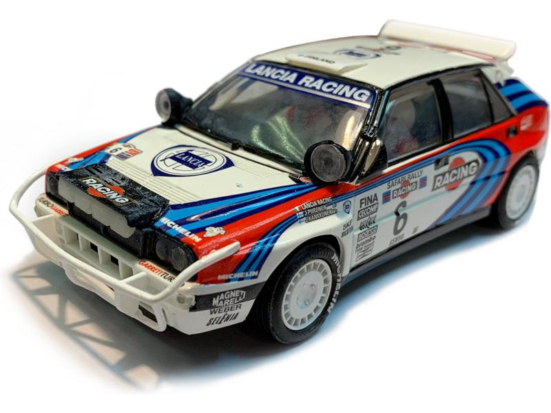 SCX Original Lancia Delta Integrale Rally Safari