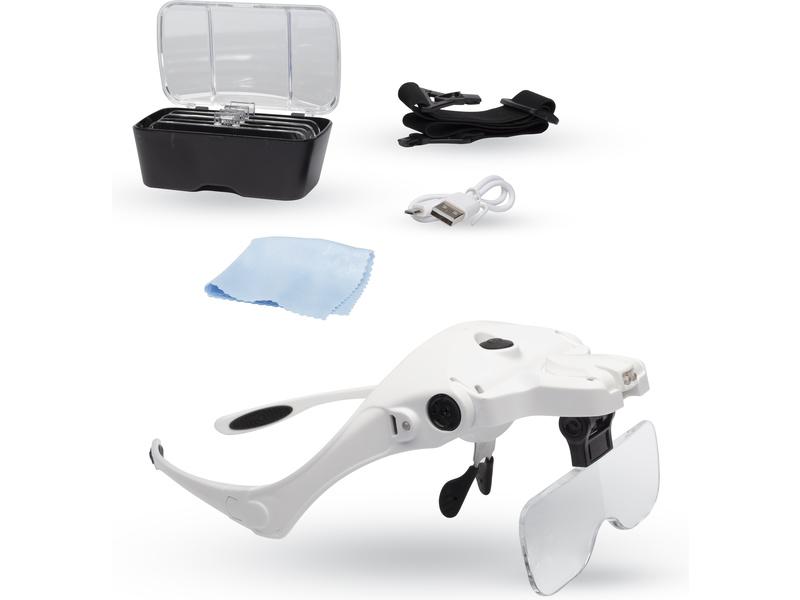 Lightcraft zvětšovací brýle s LED osvětlením (set)