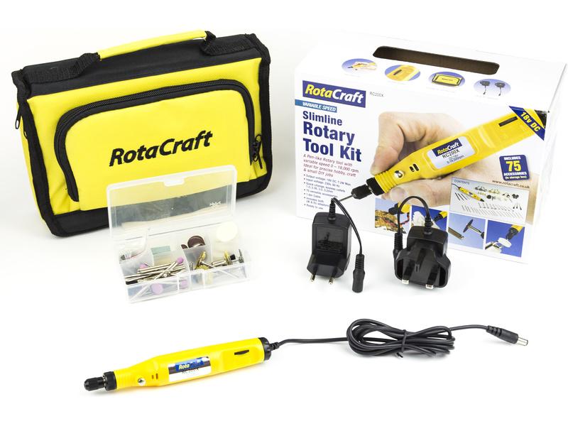 Rotacraft vrtací frézka RC200X se 60 nástroji