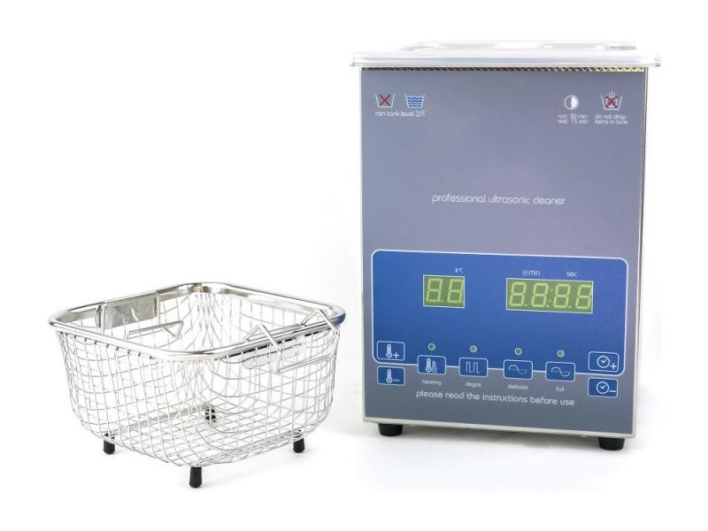 Shesto ultrazvuková čistička s ohřevem 2l