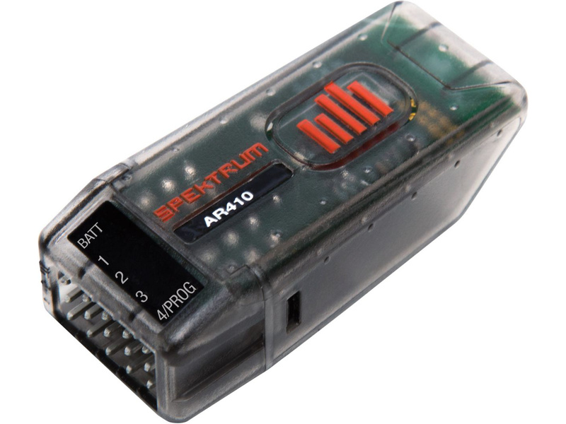 Spektrum přijímač AR410 DSM2/DSMX 4CH Sport