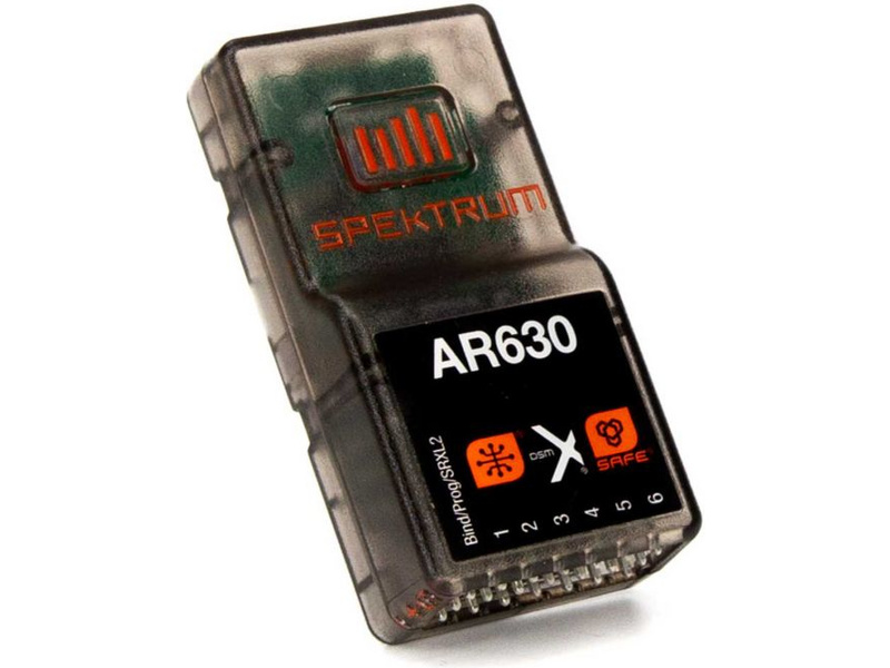Spektrum přijímač AR630 6CH AS3X/SAFE