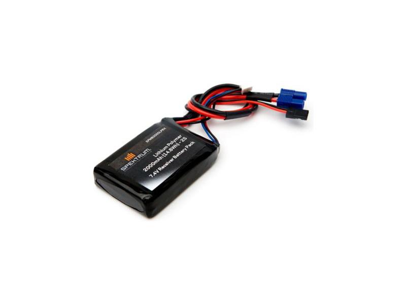 Náhled produktu - Spektrum baterie přijímače LiPol 7.4V 2000mAh