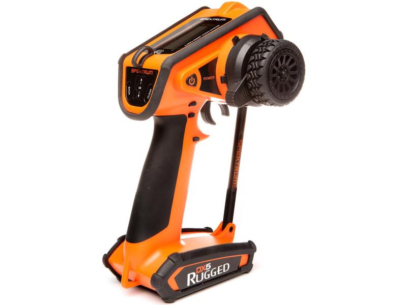 Spektrum DX5 Rugged DSMR oranžový pouze vysílač