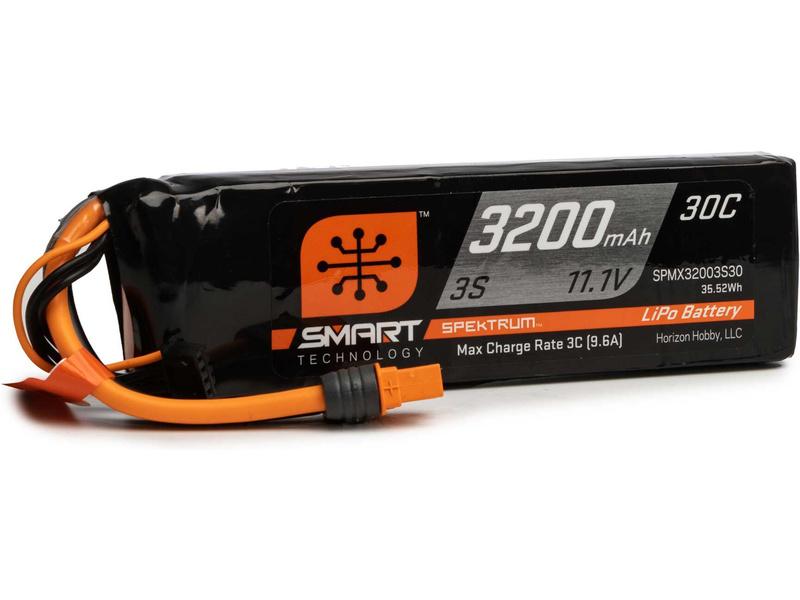Spektrum Smart LiPo 11.1V 3200mAh 30C IC3