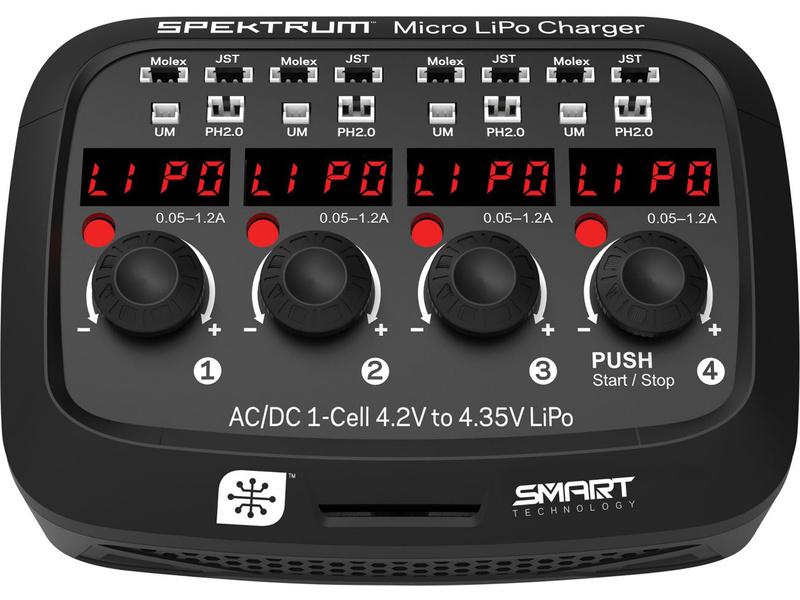 Spektrum nabíječ Micro LiPo AC/DC
