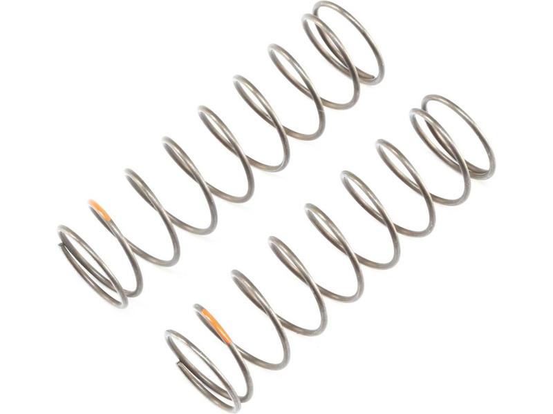 TLR pružina tlumiče EVO zadní 16mm 4.0R oranžová (2): 8X