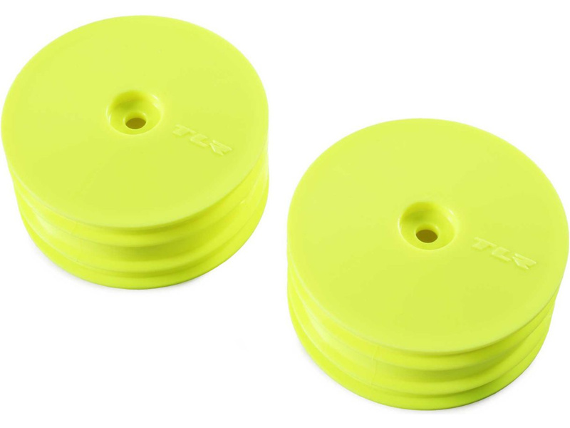 TLR disk přední žlutý (2): 22X-4