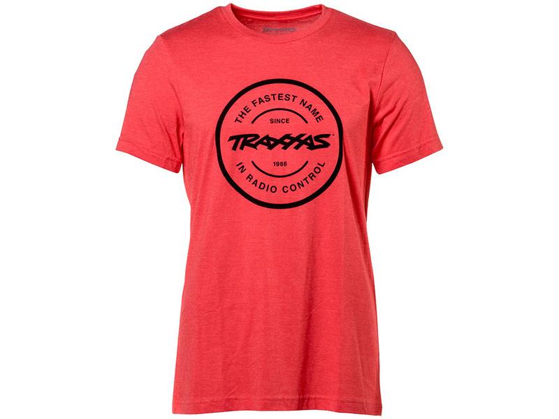 Traxxas tričko Radio Control červené L