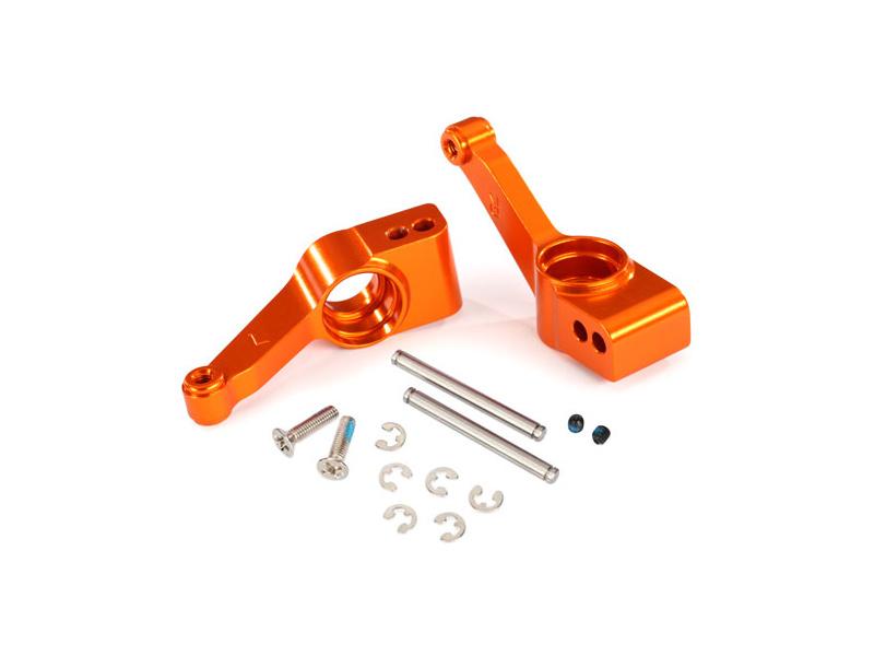 Traxxas těhlice zadní hliníková oranžová (2), Traxxas 1952T, TRA1952T