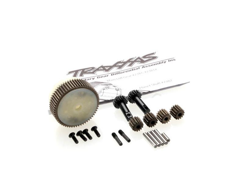 Traxxas diferenciál s ocelovým ozubením, Traxxas 2388X, TRA2388X