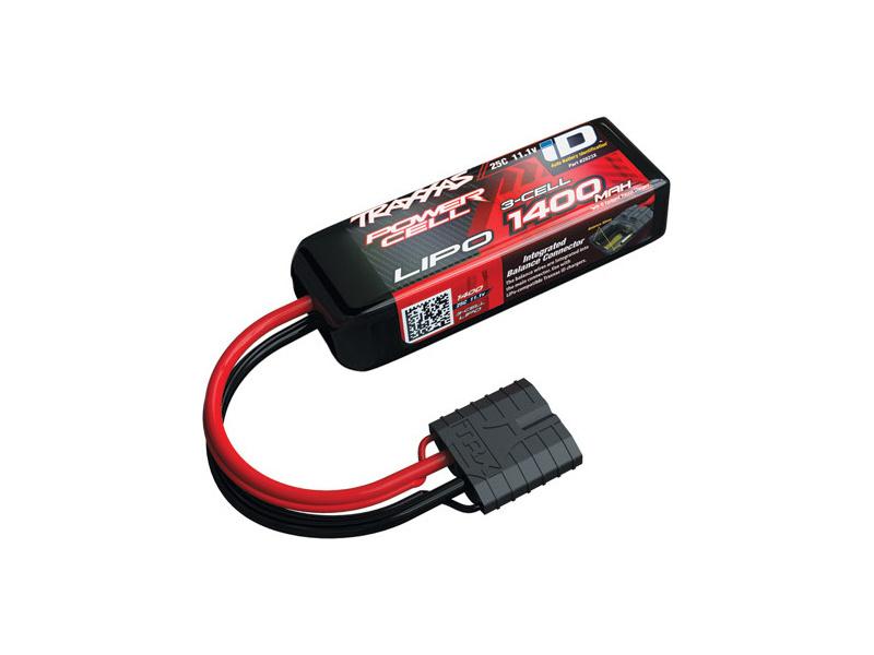 Traxxas LiPo baterie 11.1V 1400mAh 25C iD, Traxxas 2823X, TRA2823X