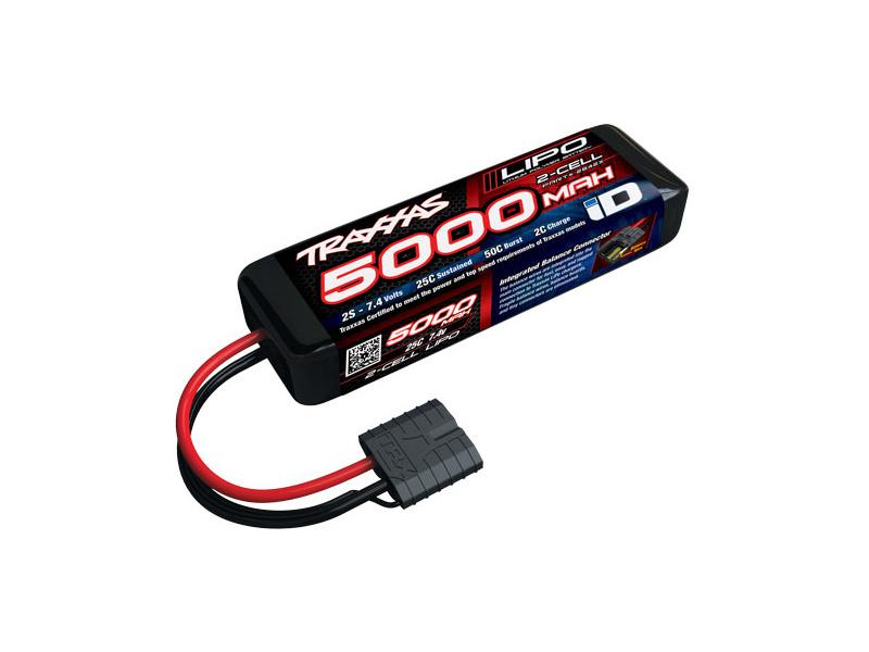 Traxxas LiPo baterie 7.4V 5000mAh 25C iD, Traxxas 2842X, TRA2842X