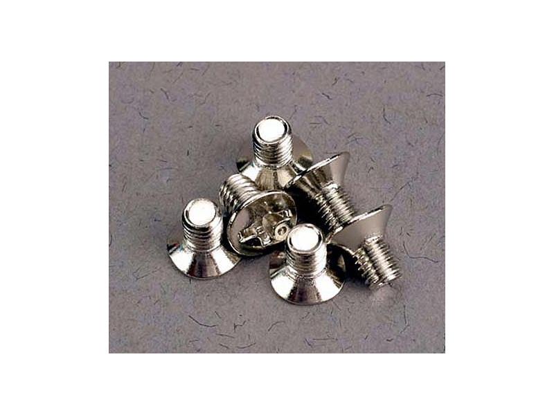 Traxxas šroub křížový M3x5mm zápustná hlava zink. (6), Traxxas 3165, TRA3165