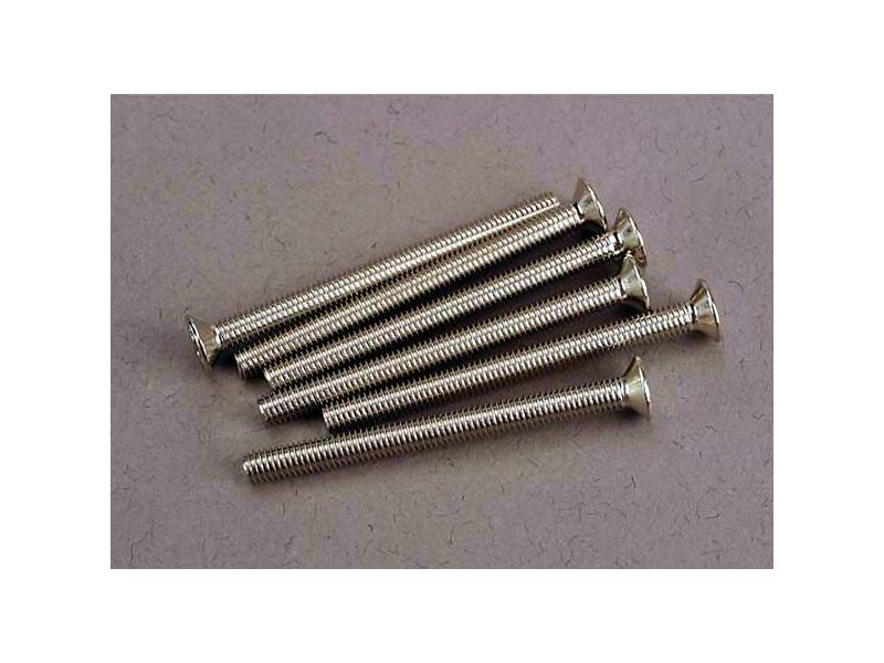 Traxxas šroub křížový M3x36mm zápustná hlava zink. (6), Traxxas 3172, TRA3172