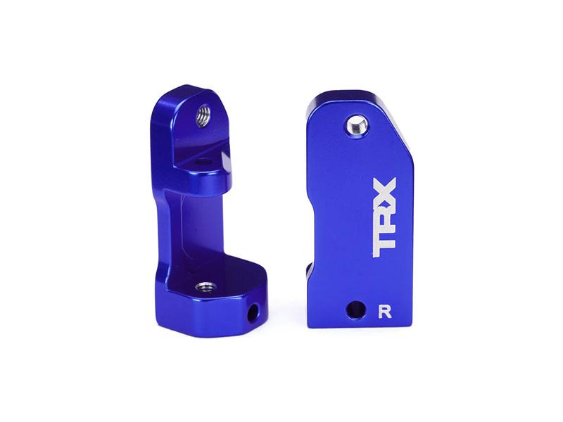 Traxxas závěs těhlice 30° hliníkový modrý (L+P), Traxxas 3632A, TRA3632A