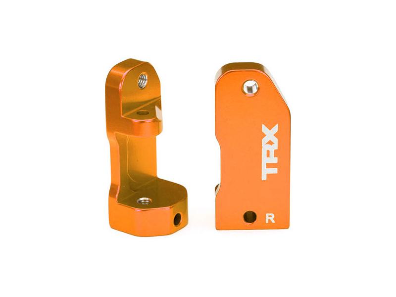 Traxxas závěs těhlice 30° hliníkový oranžový (L+P), TRA3632T