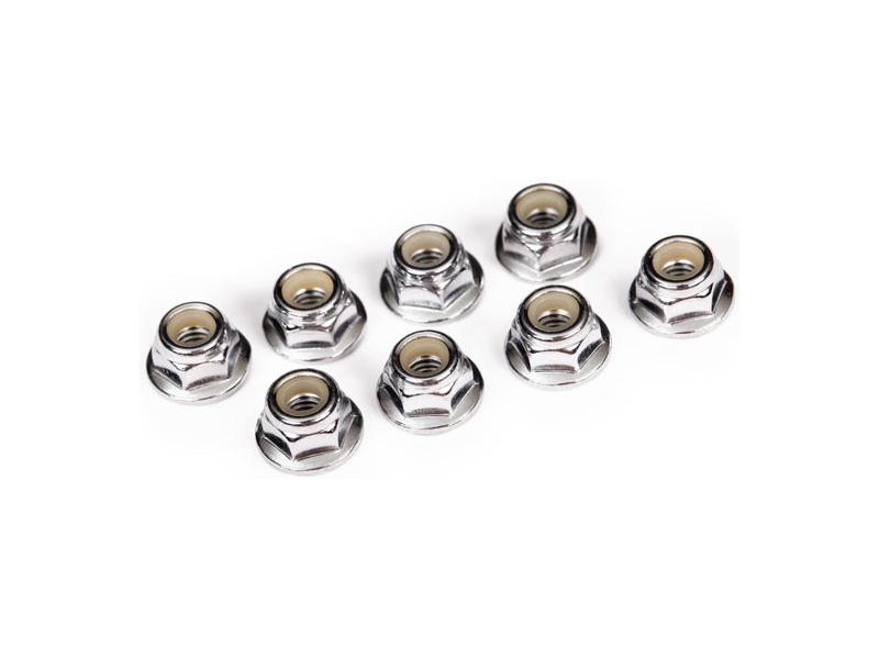 Traxxas matice M4 samojistná s límcem ocel zink. (8), Traxxas 3647, TRA3647