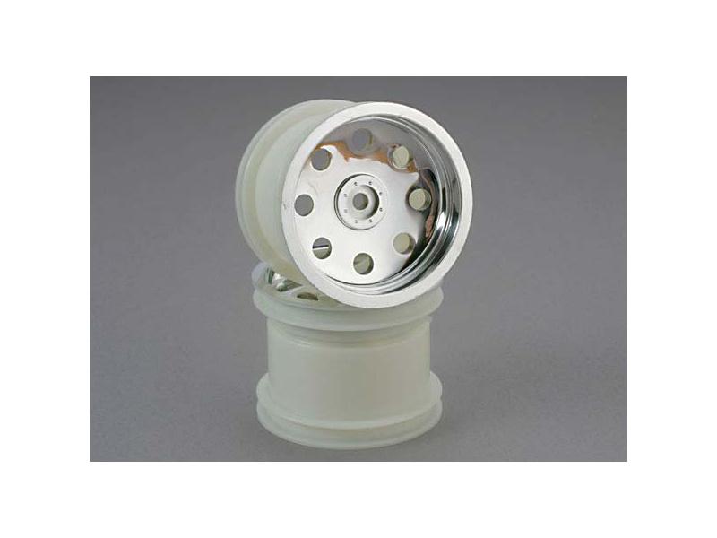 """Traxxas disk 2.2"""" stříbrný, 28mm (2), Traxxas 3672, TRA3672"""