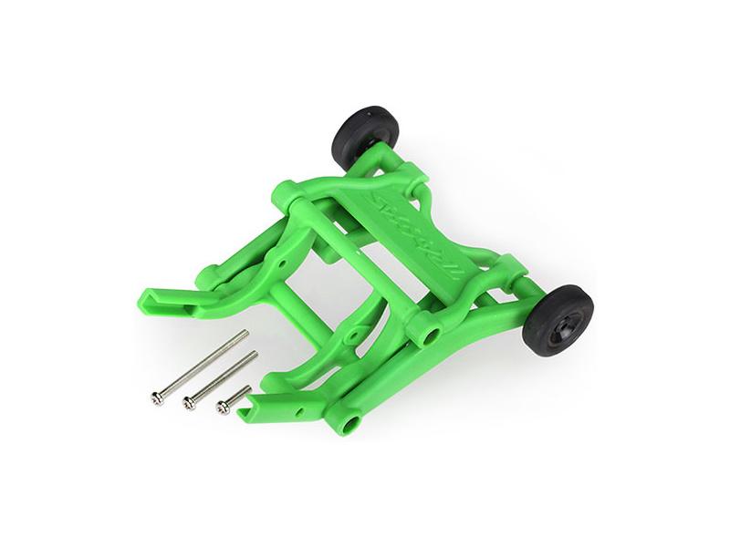 Traxxas sada opěrných koleček (wheelie) zelená, Traxxas 3678A, TRA3678A