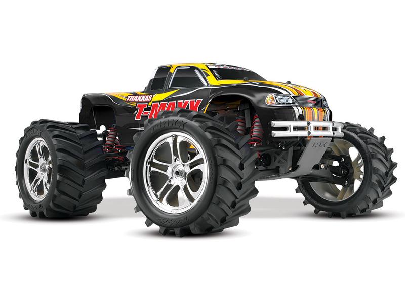 Traxxas Nitro T-Maxx Classic 1:8 RTR černý, TRA49104-1-BLK