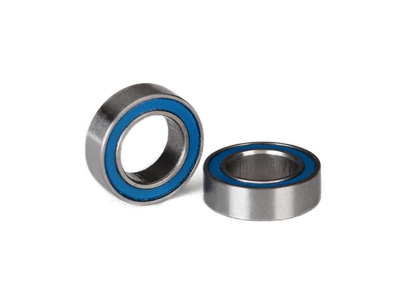 Traxxas kuličkové ložisko 6x10x3mm 2RS modré (2), Traxxas 5105, TRA5105