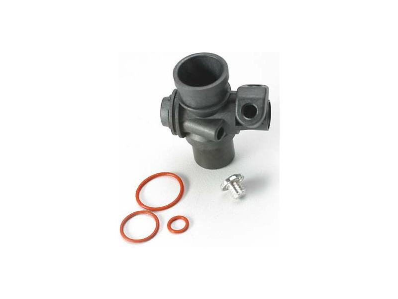 Traxxas tělo karburátoru s o-kroužky: TRX 2.5/2.5R